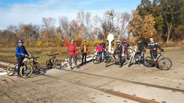 14 октября 2018 – Велотурне в Тростянец полями, лугами.