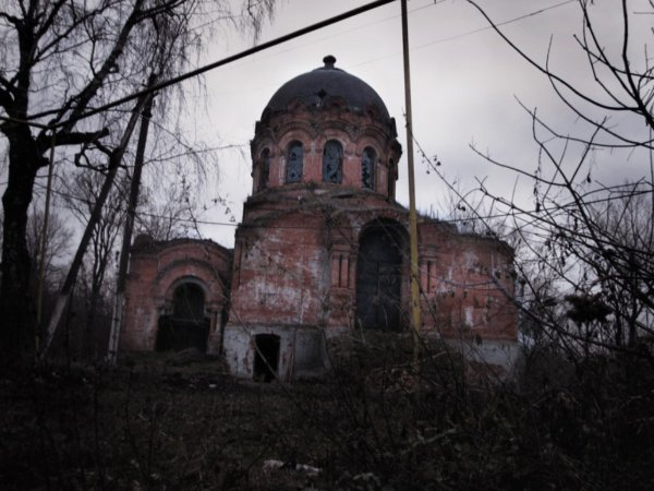 Церковь Казанской Божьей Матери, Басовка.