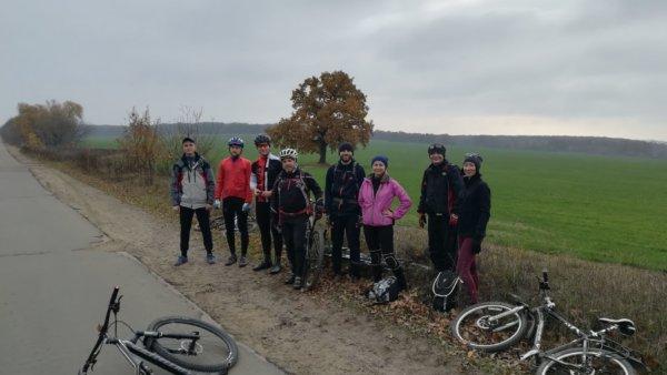 4 ноября 2017 – Велопоездка через ноябрьские леса в сторону Сенного