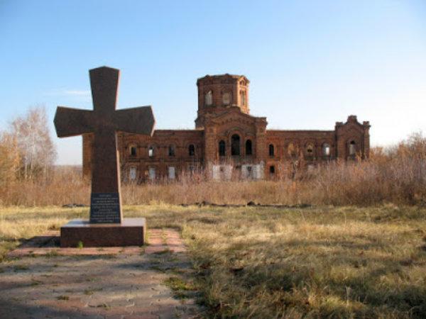 Руины Свято-Димитриевского Монастыря, Рясное