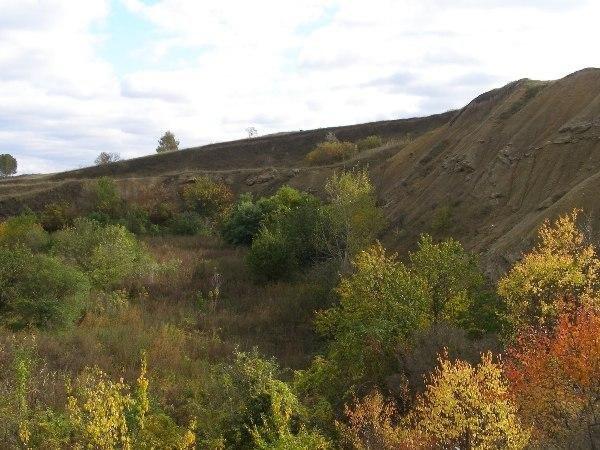 Гора Золотуха, Ромны