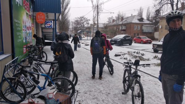 1 декабря 2018 – Встретим зиму на велосипедах!