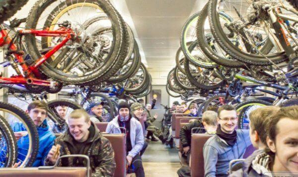 Внимание! Обновлены правила перевозки велосипедов железнодорожным транспортом!