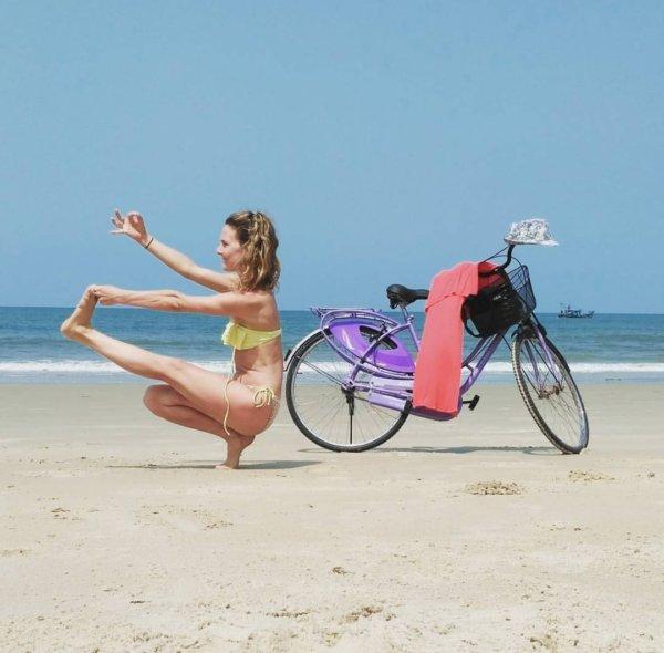 Вело Йога!!!